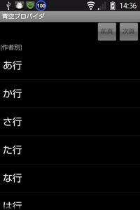 作者別リスト