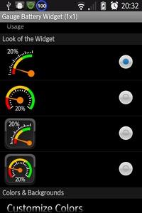 Look of the Widget