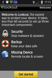 Lookout Security & Antivirusについて
