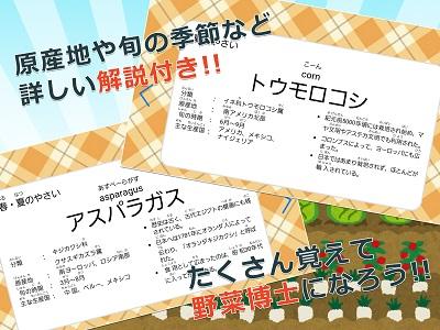 みんなの野菜カード 02
